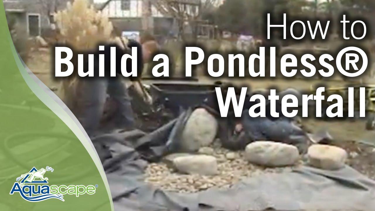 how to build an aquascape