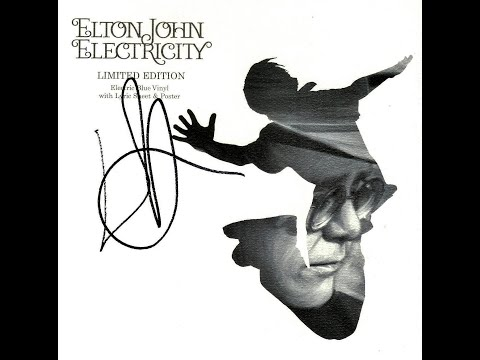 Elton John - Electricity (2005) With Lyrics!