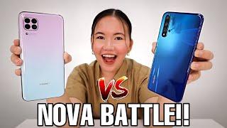 HUAWEI NOVA 7i & HUAWEI NOVA 5T COMPARISON VIDEO