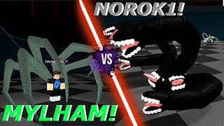 THE NOROK1 MONSTRUOSA PHASE! / Mylham vs Norok1! Roblox: Ro-Ghoul English