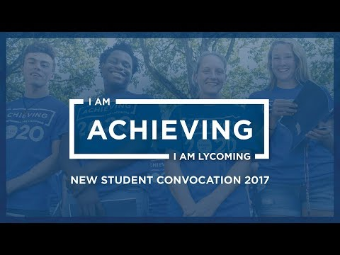 Lycoming College New Student Convocation 2017