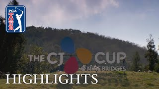 Highlights | Round 1 | THE CJ CUP 2018