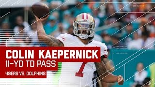Colin Kaepernick's Opening Drive TD Against Miami! | 49ers vs. Dolphins | NFL