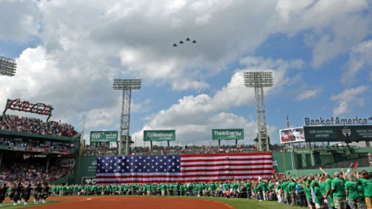 Red Sox Opening Day ceremony celebrates frontline workers, Black ...