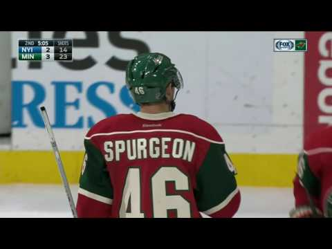 Wild explode for three goals in 80 seconds