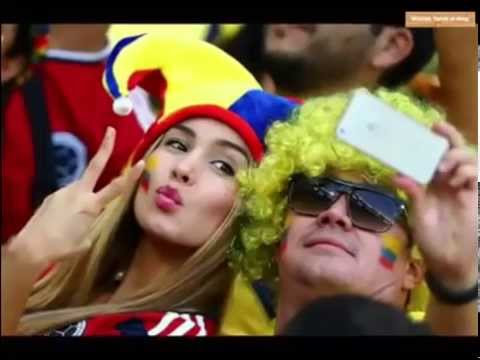 Top 40 Hottest fans of 2014 World Cup Sexy Crazy