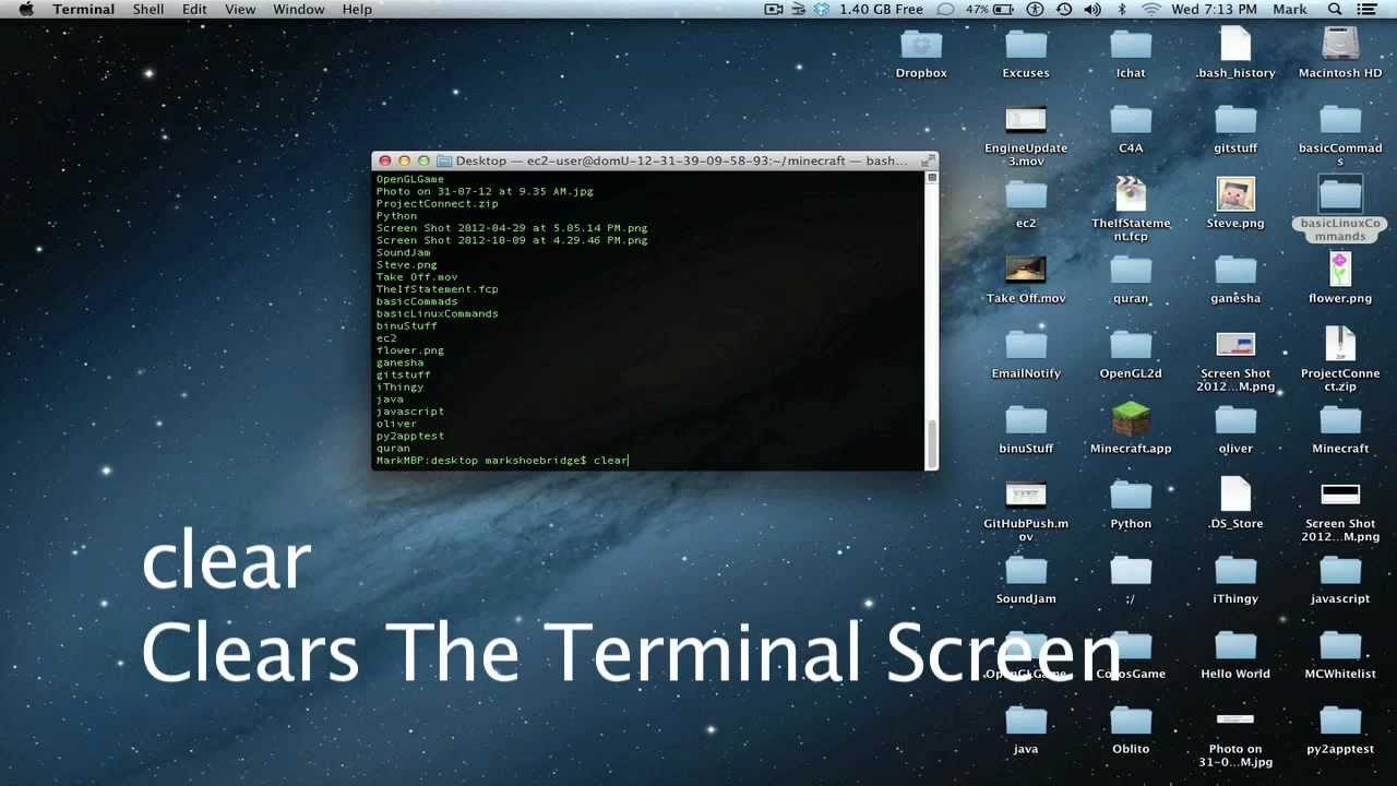Copy Of Terminal Commands - Lessons - Tes Teach