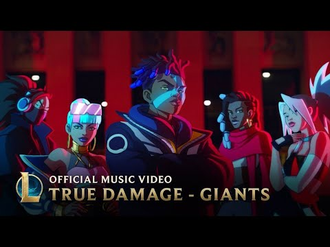 [1 Hour] True Damage - GIANTS (feat. Becky G, Keke Palmer, SOYEON, DUCKWRTH, Thutmose)   LoL
