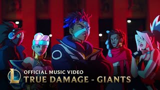 [1 Hour] [No ads]True Damage - GIANTS (feat. Becky G, Keke Palmer, SOYEON, DUCKWRTH, Thutmose) | LoL