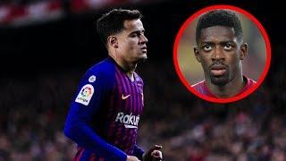 Wegen Dembele: Muss Coutinho Barca verlassen ?!