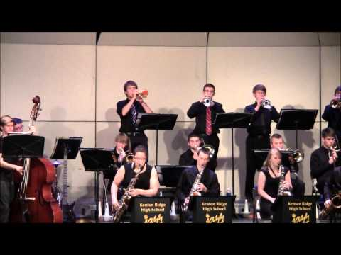 """The Daily Blues"" by the Kenton Ridge Jazz Band, 2014"