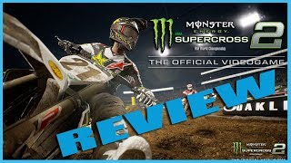 MONSTER ENERGY AMA Supercross 2 Review - Xbox One X (Video Game Video Review)