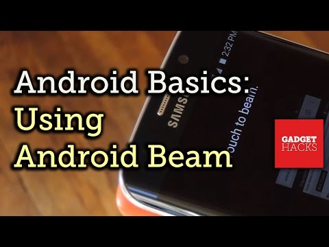 Android Basics: Using Android Beam To Transfer Content [How-To]