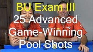 25 Advanced Game-Winning Shots Good Pool Players Know