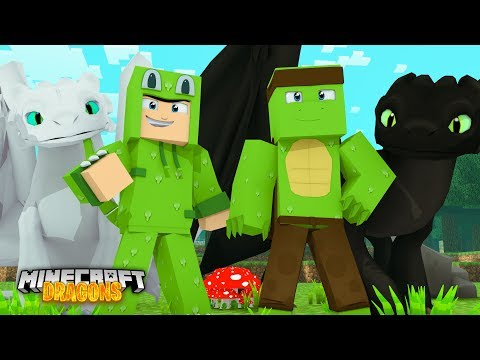 Joining TINY TURTLE'S DRAGON WORLD - Minecraft Dragons