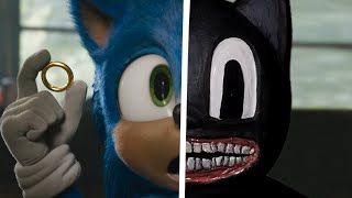 Sonic The Hedgehog Movie Choose Your Favorite Desgin For Both Characters CARTOON CAT Vs Sonic Part 2
