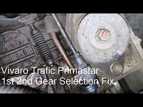 Vivaro Trafic Primastar Gearbox Problem Fix - YouTube