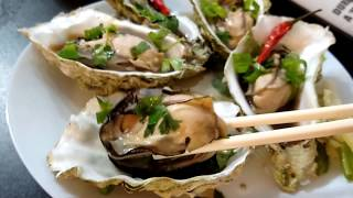 Visual MUKBANG 먹는 , How To Steam Oyster |  MUKBANG