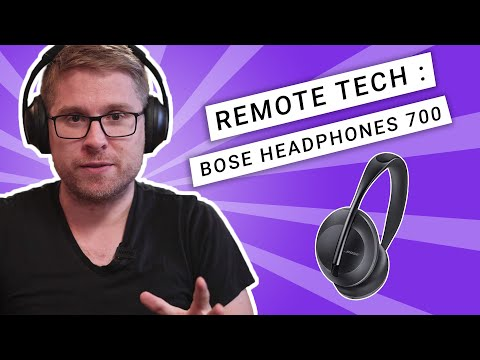 Bose 700 Headphones review, best headphones for remote workers? [Running Remote]