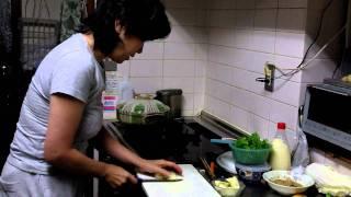 2011-11-18 和子料理中.