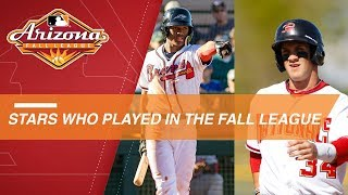Current stars who played in the Arizona Fall League