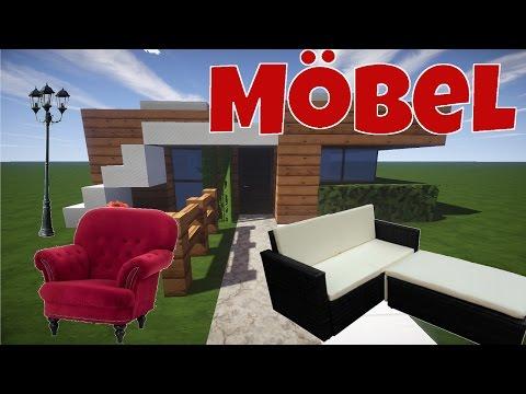 Minecraft Haus Einrichten 2 Mobel Kuche Bett Tutorial