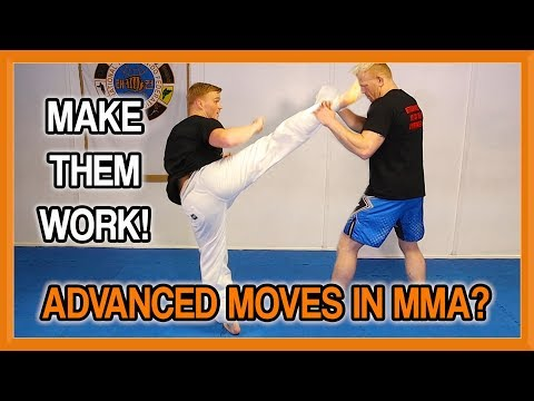 Advanced Kicks in MMA? How to Make Them Work! | Fight Perfect TV  | Part 1