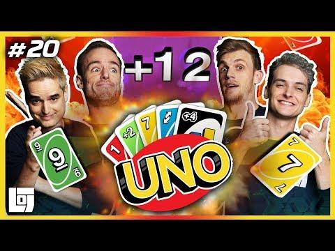 UNO: THE GAME! met Don, Joost, Milan en Roedie | LOGS3 | #20