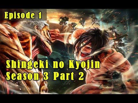 Nonton Shingeki No Kyojin Season 3 Part 2 Episode 1 Subtitle Indonesia