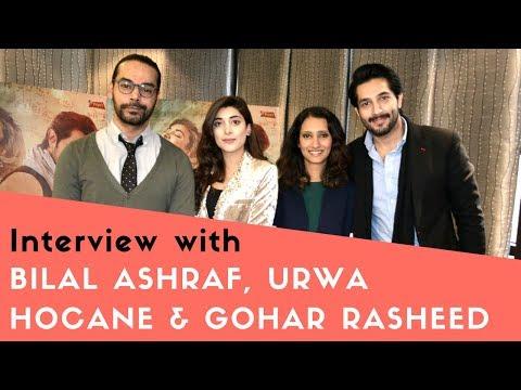 Interview With Bilal Ashraf, Urwa Hocane & Gohar Rasheed + BLOOPERS