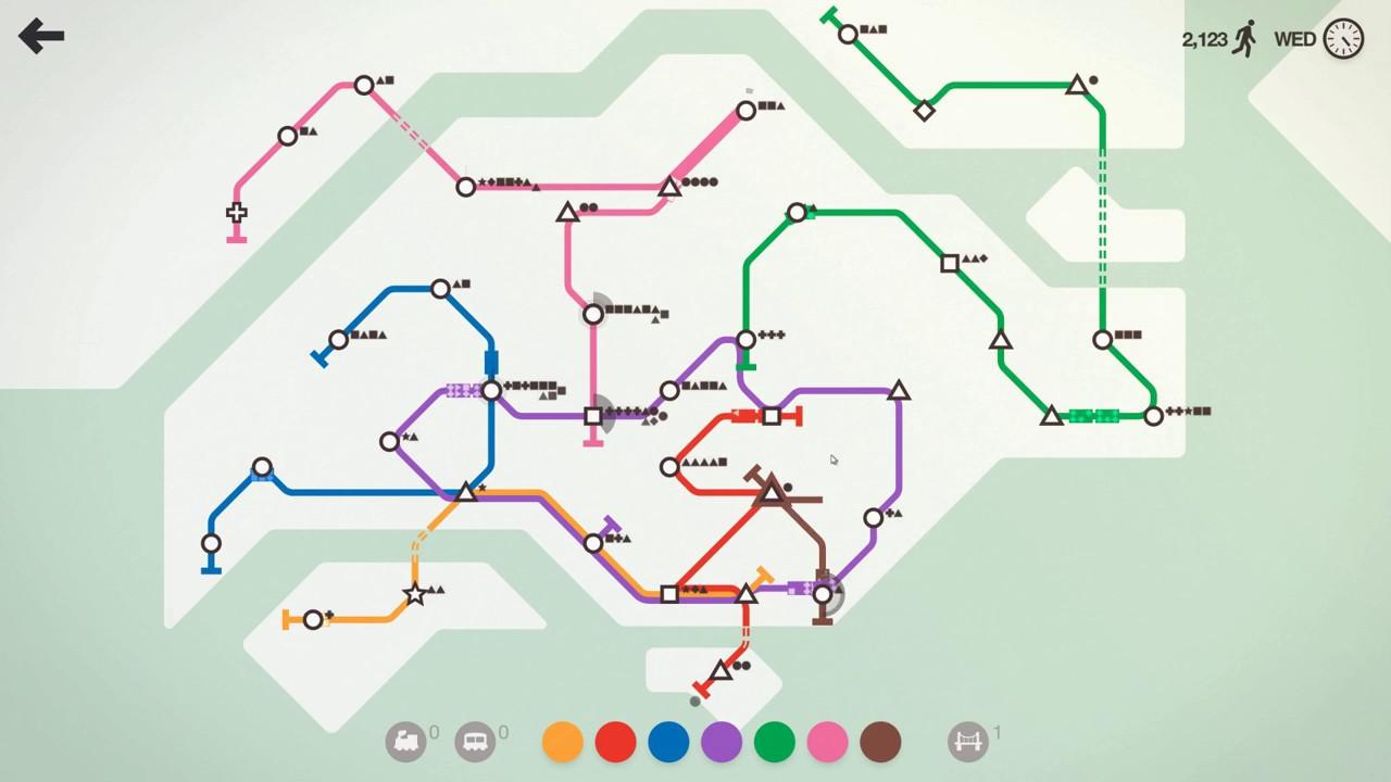 Mini Metro Singapore New Map Circle Line Achievement Youtube
