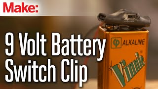 9 Volt Battery Clip Switch