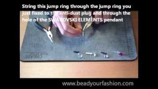 Jewelry making -- Mini DIY project 4: How to make an anti-dust plug Thumbnail