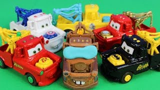 Disney Cars Pixar Mater Dreams of Saving Imaginext Batman Wolverine Hulk Lightning McQueen