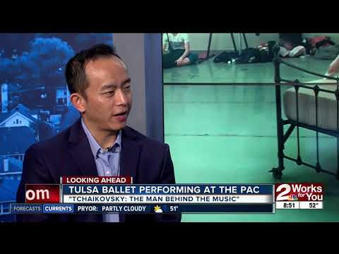 """Preview of Tulsa Ballet's """"Tchaikovsky: The Man Behind the Music"""""""