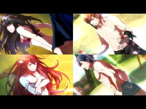 Fire Emblem Awakening - Summer Scramble Story & Swimsuit Scenes
