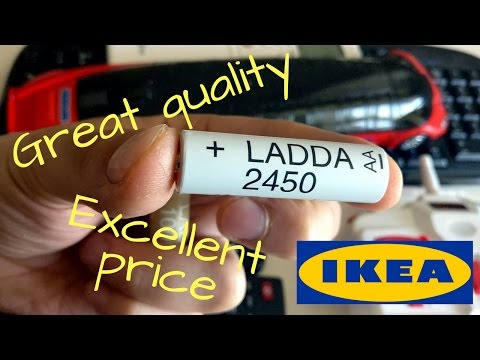 ikea-ladda-batteries-2017---among-the-best-rechargeable-batteries!