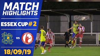 CHANCE FOR REVENGE? - HASHTAG UNITED vs FRENFORD (ESSEX SENIOR CUP)