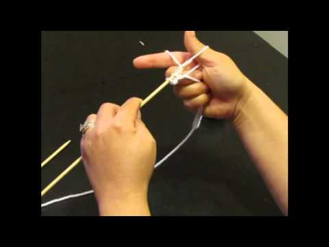For Left Handed Knitters: How to Cast On