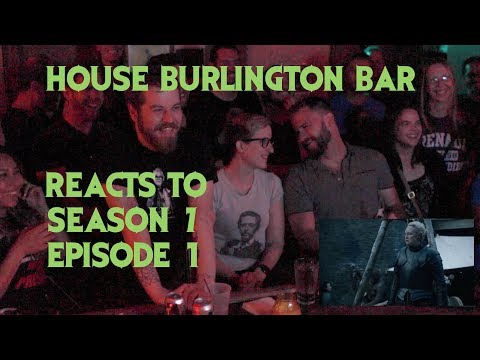 GAME OF THRONES Reactions at Burlington Bar S07E01