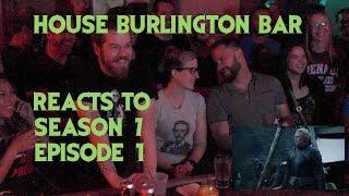 GAME OF THRONES Reactions at Burlington Bar S07E01