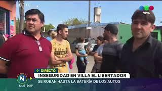INSEGURIDAD: ARREBATOS Y ENTRADERAS, MODA COMÚN EN VILLA EL LIBERTADOR