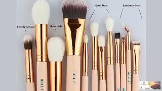 Goat Hair Essential Premium Foundation Eye shadow Blush Powder Highlighter FREE SHIPPING!