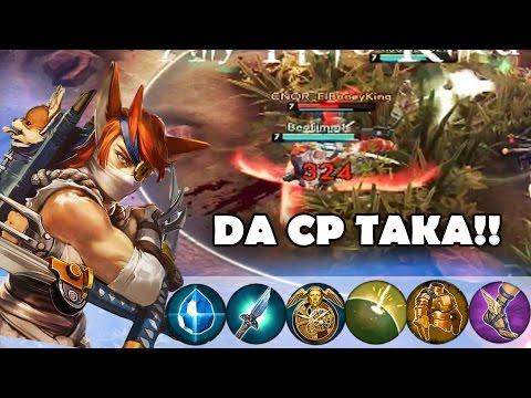 CP Taka Is The Only TAKA! | Vainglory [Update 1.12] Jungle Gameplay
