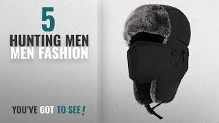 Top 10 Hunting Men [Men Fashion Winter 2018 ]: Mysuntown Unisex Winter Trooper Hat Hunting Hat