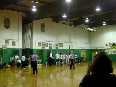 Sarah Miebach's 1000 point shot. Sussex County Technical School (Sparta, NJ)