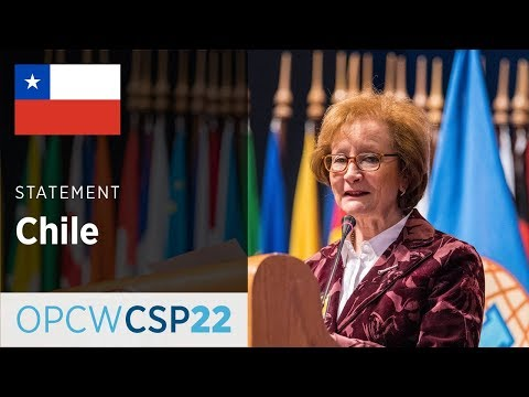 Chile Statement by Ms Maria Teresa Infante at CSP-22