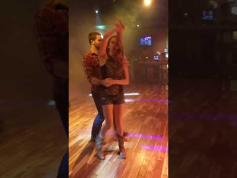 Country Swing Dancing W/ Jordan & Kenton - Tricks & Aerials