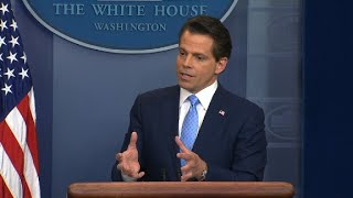 Scaramucci on WH briefing: 'put the cameras on'