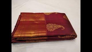 Designer Kanjivaram Sarees Online Shopping Best Buy  (#1107)